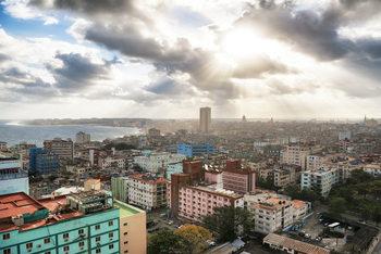 Arte Fotográfica Exclusiva Rays of light on Havana