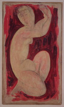 Reprodução do quadro  Red Caryatid, 1913