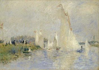 Reprodução do quadro Regatta at Argenteuil, 1874