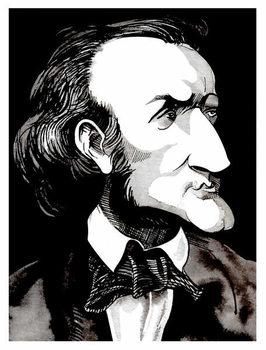 Reprodução do quadro Richard Wagner, by Neale Osborne