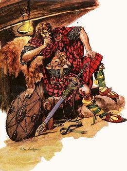 Reprodução do quadro  Robert Bruce, the Fighting King