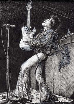 Reprodução do quadro Rock Star, 2009,