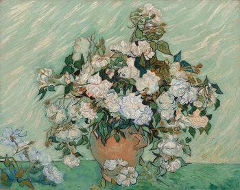 Reprodução do quadro  Roses, 1890