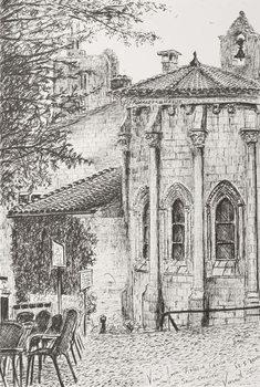 Reprodução do quadro  Saint Emilion France, 2010,