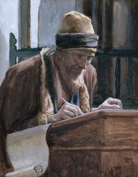 Reprodução do quadro Saint Mark, illustration for 'The Life of Christ', c.1886-94