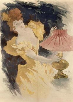 Reprodução do quadro  Saxoleine , France 1890's
