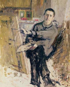 Reprodução do quadro  Self Portrait, c.1907-08