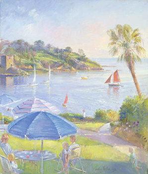 Reprodução do quadro  Shades and Sails, 1992