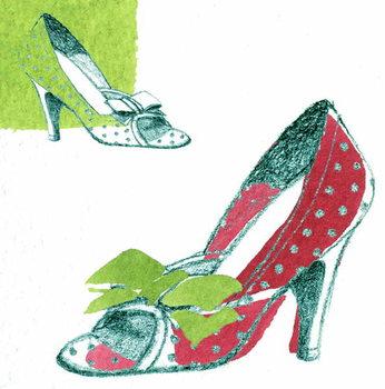 Reprodução do quadro Shoe
