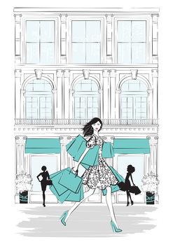 Ilustração Shop New York