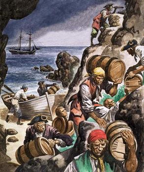 Reprodução do quadro  Smugglers