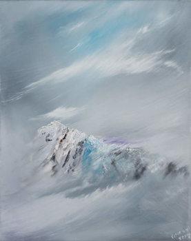 Reprodução do quadro  Snowdon 1, 2014,