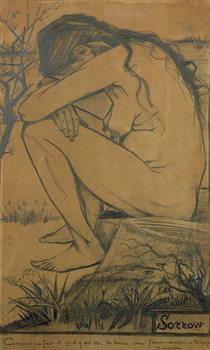 Reprodução do quadro  Sorrow, 1882