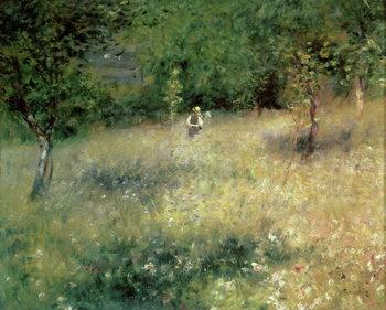 Reprodução do quadro  Spring at Chatou, c.1872-5