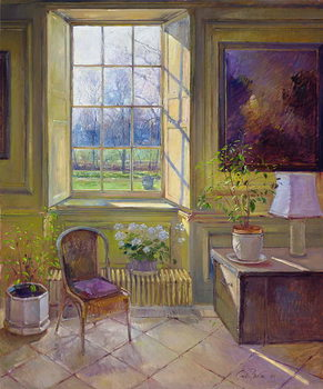 Reprodução do quadro  Spring Light and The Tangerine Trees, 1994