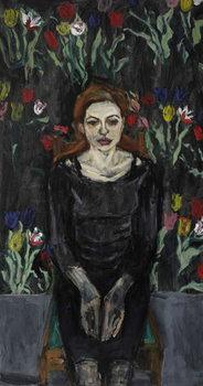Reprodução do quadro Spring Portrait,
