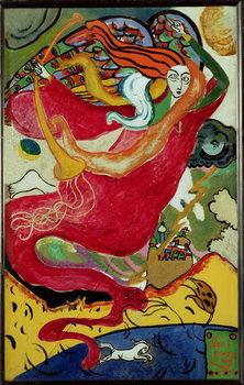 Reprodução do quadro  St. Gabriel, 1911