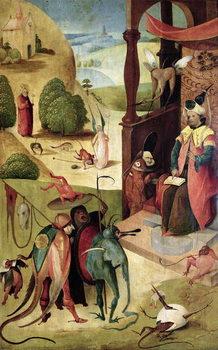 Reprodução do quadro  St.James and the Magician