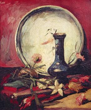 Reprodução do quadro  Still Life with Flowers, c.1886