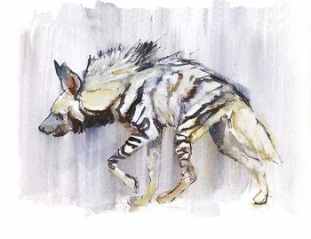 Reprodução do quadro  Striped Hyaena, 2010,