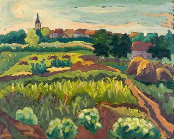 Reprodução do quadro Suburban Gardens, 2005