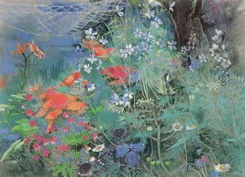 Reprodução do quadro Summer Garden