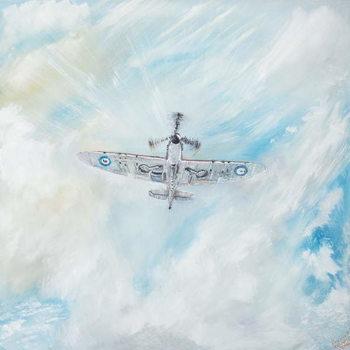 Reprodução do quadro  Supermarine Spitfire, 2014,