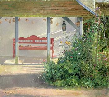 Reprodução do quadro Sweet Peas and Autumn Harvest