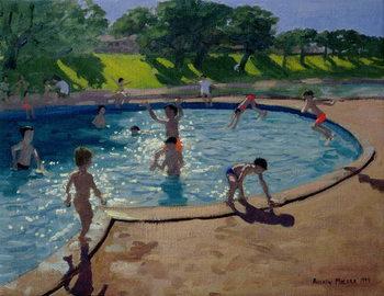 Reprodução do quadro  Swimming Pool, 1999