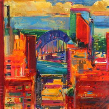 Reprodução do quadro Sydney Harbour Bridge, 2012