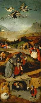 Reprodução do quadro  Temptation of St. Anthony (left hand panel)