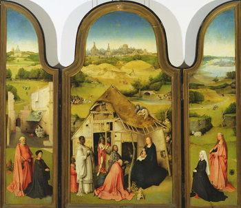 Reprodução do quadro  The Adoration of the Magi, 1510