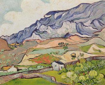 Reprodução do quadro  The Alpilles, 1890