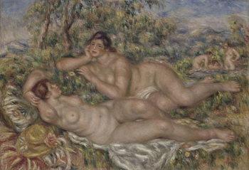 Reprodução do quadro  The Bathers, c.1918-19