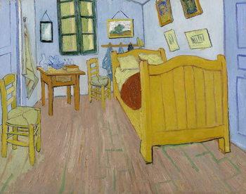 Reprodução do quadro The Bedroom, 1888