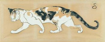 Reprodução do quadro The Cat