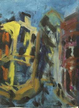 Reprodução do quadro The City, 2014,