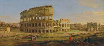 Reprodução do quadro  The Colosseum