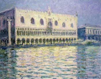 Reprodução do quadro  The Ducal Palace, Venice, 1908
