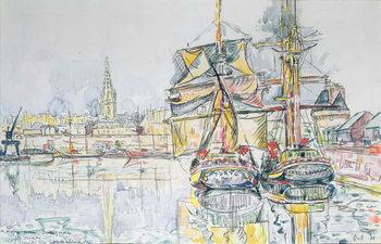 Reprodução do quadro  The 'Emerald Coast', St. Malo, 1931