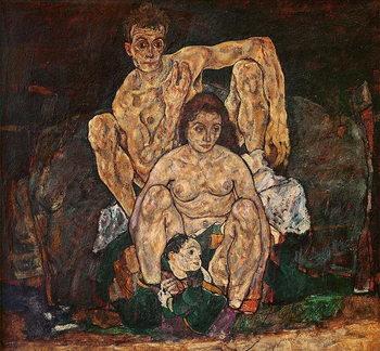 Reprodução do quadro  The Family, 1918
