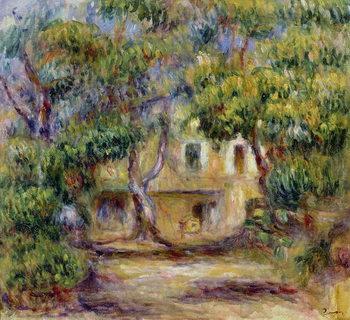 Reprodução do quadro The Farm at Les Collettes, c.1915