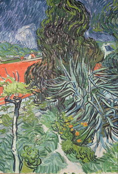 Reprodução do quadro  The Garden of Doctor Gachet at Auvers-sur-Oise, 1890