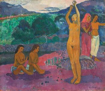 Reprodução do quadro The Invocation, 1903