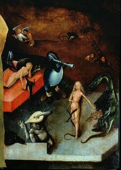 Reprodução do quadro  The Last Judgement (altarpiece)