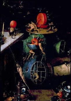Reprodução do quadro  The Last Judgement : Detail of an Urn