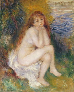 Reprodução do quadro The Naiad, 1876