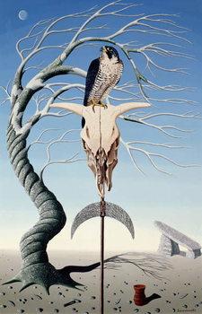 Reprodução do quadro  The Neolithic Totem