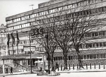 Reprodução do quadro  The Old BBC Oxford road Manchester, 2011,