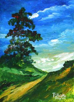 Reprodução do quadro  The old oak, 2015